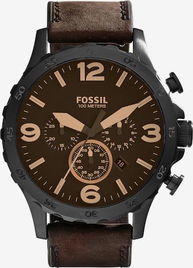 FOSSIL Chronograph 'NATE' in dunkelbraun, Produktansicht
