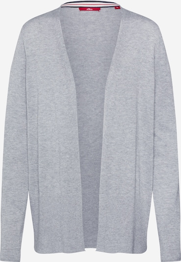 s.Oliver Knit cardigan in mottled grey, Item view