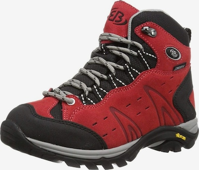 Brütting Boots in de kleur Rood / Zwart, Productweergave