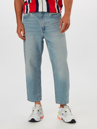 LEVI'S Jeans 'STAY LOOSE' in blue denim, Modelansicht