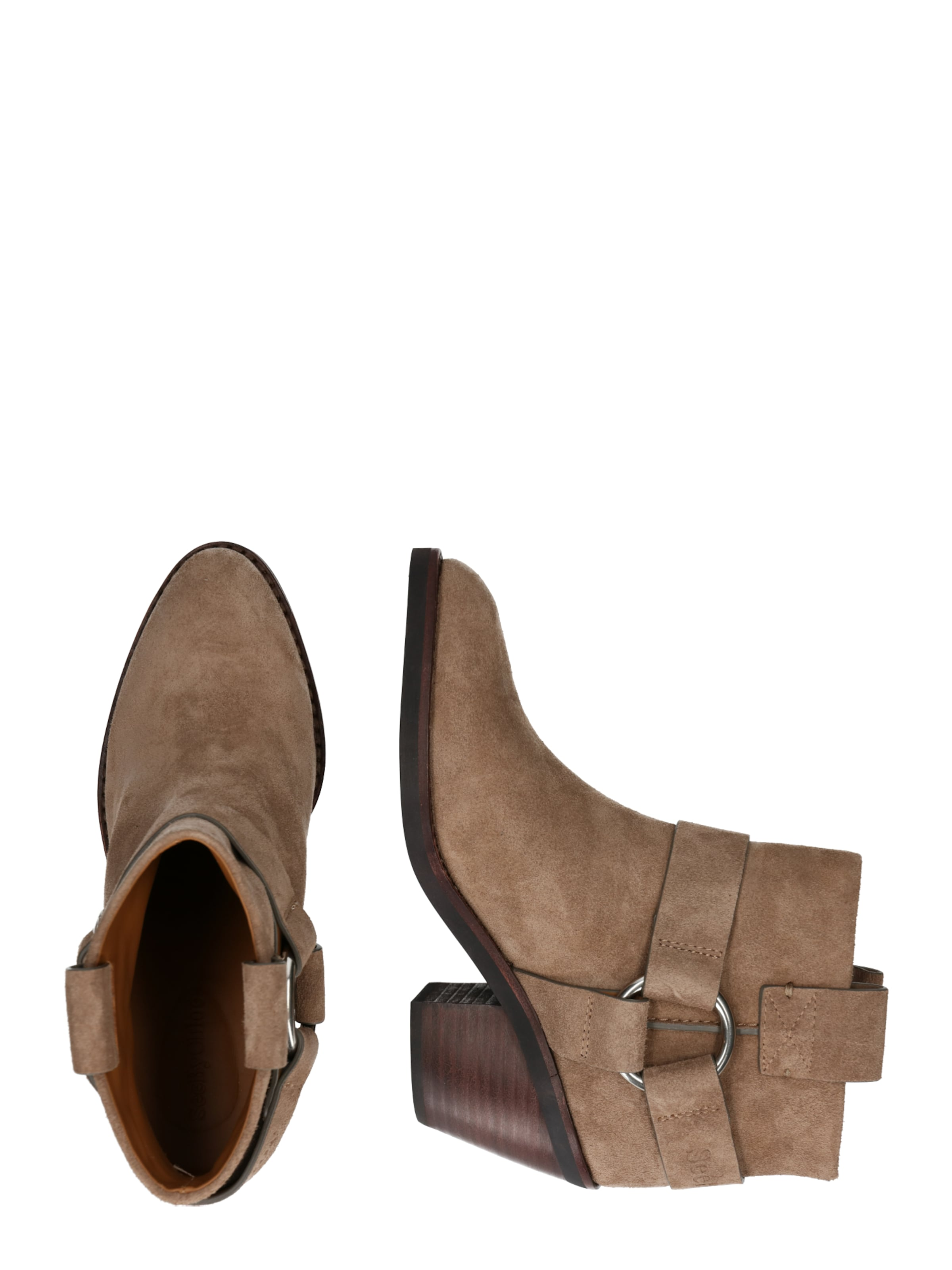 'sb33025a' In Taupe By See Stiefelette Chloé dreWoxBQC