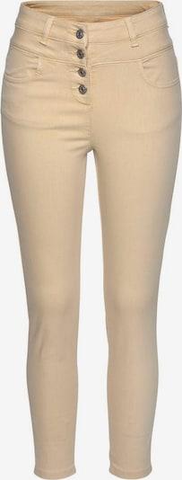 LASCANA Jeans in pastellgelb, Produktansicht