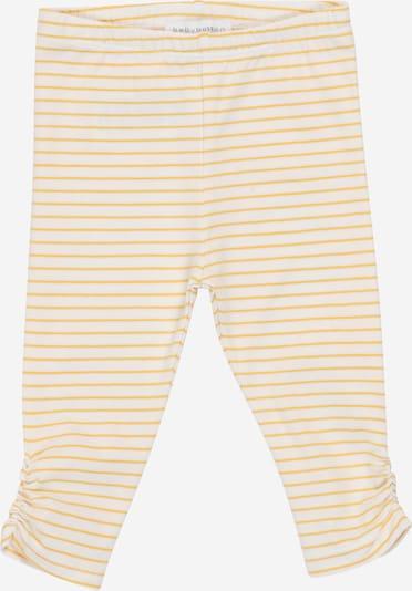 aranysárga / fehér BELLYBUTTON Leggings: Elölnézet