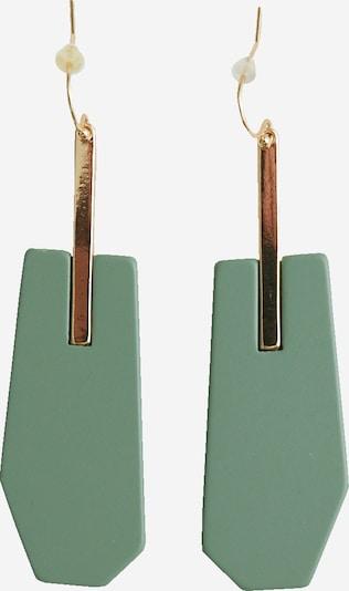 EDITED Náušnice 'Ishoy' - zelená, Produkt