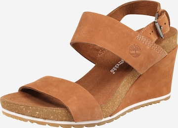 TIMBERLAND Strap Sandals 'Capri Sunset' in Brown