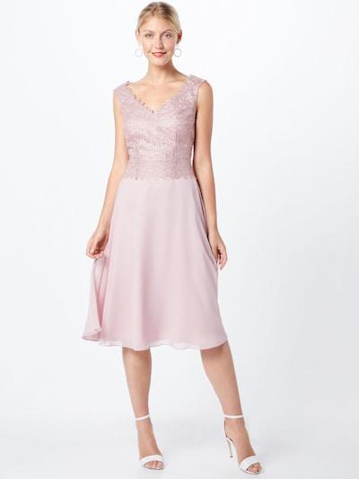 Kokteilinė suknelė iš Vera Mont , spalva - rožių spalva: Vaizdas iš priekio