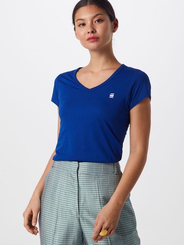 V' 'eyben En T shirt Raw Bleu G star uZiOXTPk