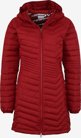 COLUMBIA Steppjacke 'Powder Lite Mid' in rot, Produktansicht