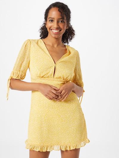 Cotton On Letní šaty 'Sandra' - žlutá / bílá, Model/ka