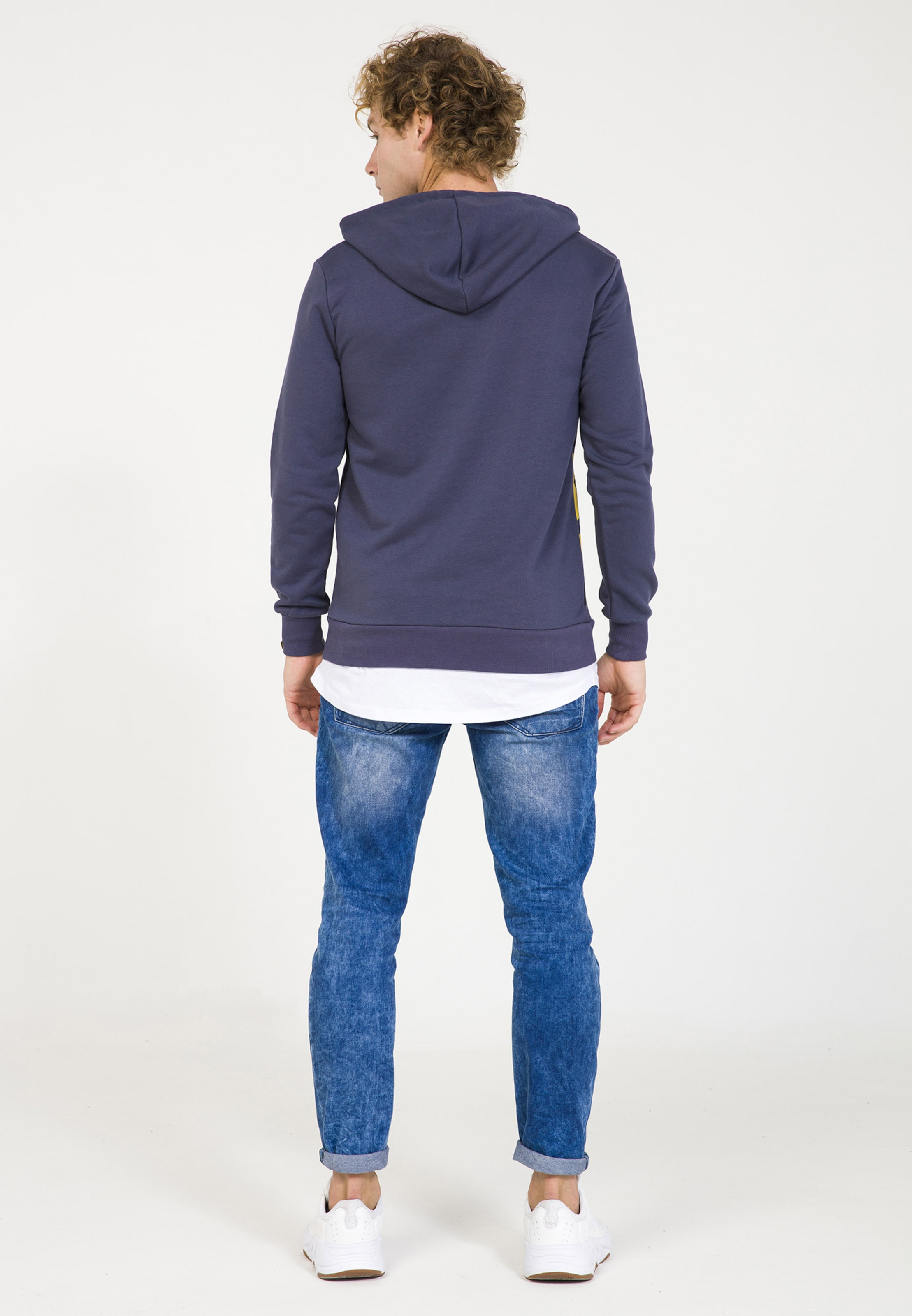 Plus Kapuzenpullover GelbDunkellila Eighteen Plus In QeBrdCxWo