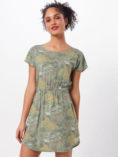 Iriedaily Kleid 'Jungalore' in gelb / oliv, Modelansicht