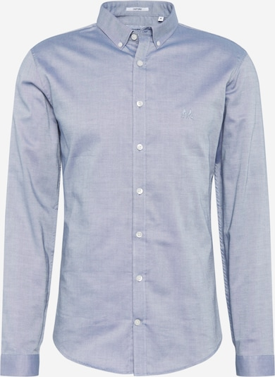 Lindbergh Hemd 'Oxford shirt L/S' in blau: Frontalansicht