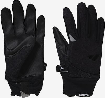 Zanier Fingerhandschuhe in schwarz, Produktansicht
