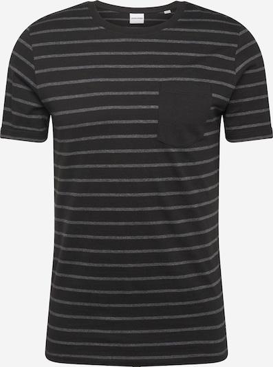JACK & JONES Shirt 'Nikolai' in de kleur Donkergrijs / Zwart, Productweergave