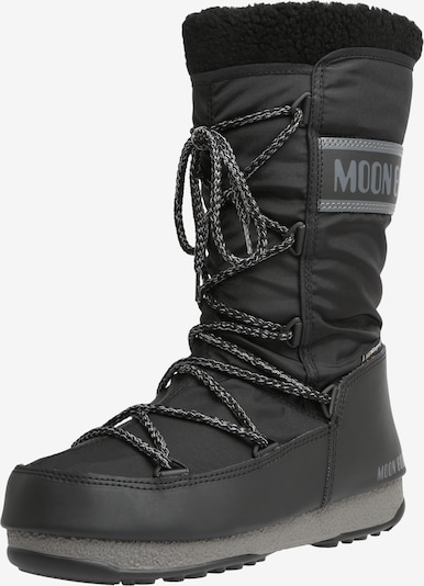 MOON BOOT Snowboots 'MOON BOOT MONACO WOOL WP' in schwarz, Produktansicht