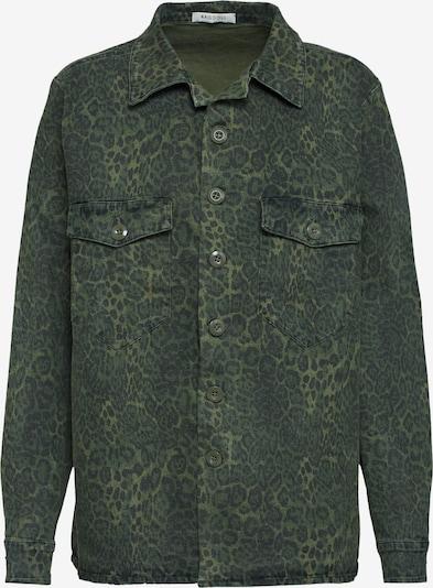 Ragdoll LA Tussenjas 'Leopard Surplus Shirt' in Kaki 4jLDC7Ht
