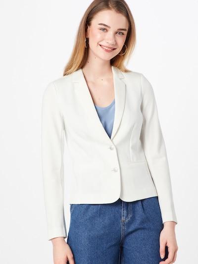 ONLY Blazer 'Poptrash' in weiß, Modelansicht
