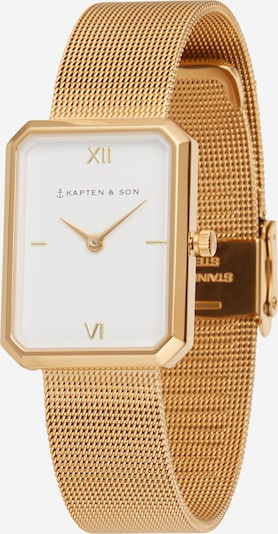 Kapten & Son Analog watch 'Grace Mesh ' in gold, Item view