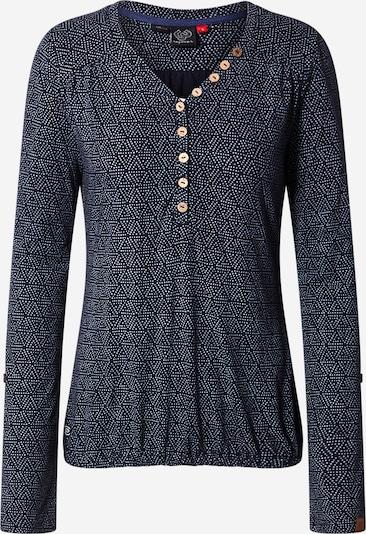 Ragwear Shirt 'Pinch' in dunkelblau / weiß, Produktansicht