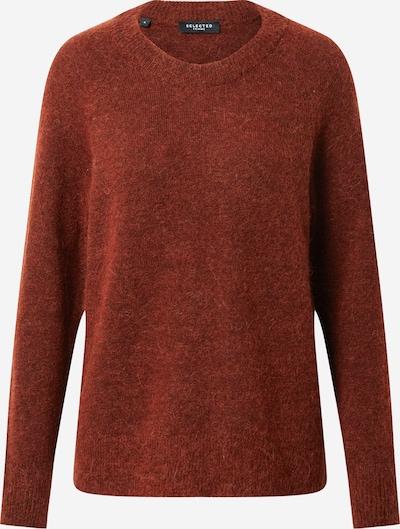 SELECTED FEMME Pullover 'Lulu' in rostrot, Produktansicht