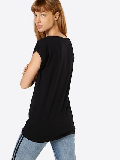 Iriedaily Shirt 'It Hasi' in schwarz: Rückansicht