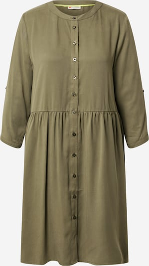 STREET ONE Robe-chemise en kaki, Vue avec produit