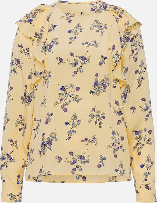 IVY & OAK Blausen 'Volant Printed Printed Printed Blouse' in gelb   mischfarben  Neue Kleidung in dieser Saison 3beca2