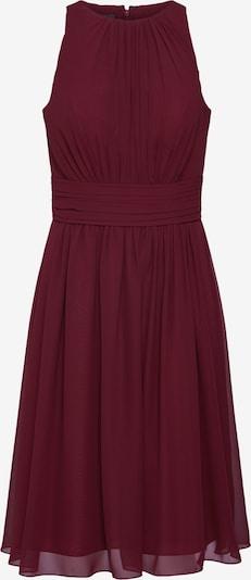 STAR NIGHT Robe de cocktail 'short dress chiffon' en bourgogne, Vue avec produit