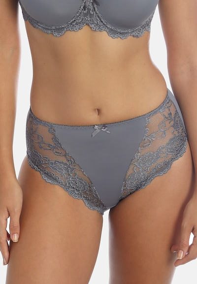 sassa Miederslip CLASSIC LACE 2er Pack in grau: Frontalansicht