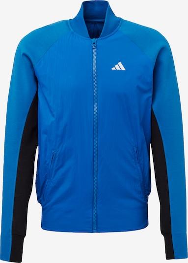 ADIDAS PERFORMANCE Trainingsjacke in blau, Produktansicht