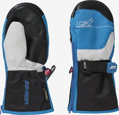 Zanier Fausthandschuhe in blau / schwarz / weiß, Produktansicht