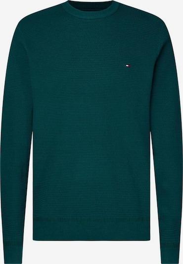 TOMMY HILFIGER Pullover in smaragd, Produktansicht
