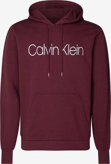 Calvin Klein Sweatshirt in bordeaux / weiß, Produktansicht