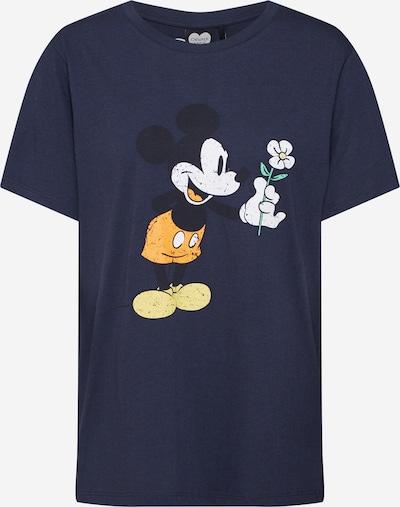 CATWALK JUNKIE T-shirt 'Mickey Flower' en bleu, Vue avec produit