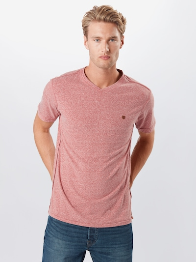 JACK & JONES T-Shirt in pinkmeliert: Frontalansicht