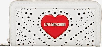 Love Moschino Portemonnaie in weiß, Produktansicht
