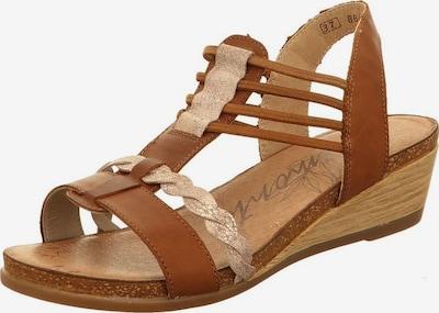 REMONTE Sandale in beige / braun, Produktansicht