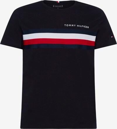TOMMY HILFIGER T-Shirt in navy / rot / schwarz / weiß, Produktansicht