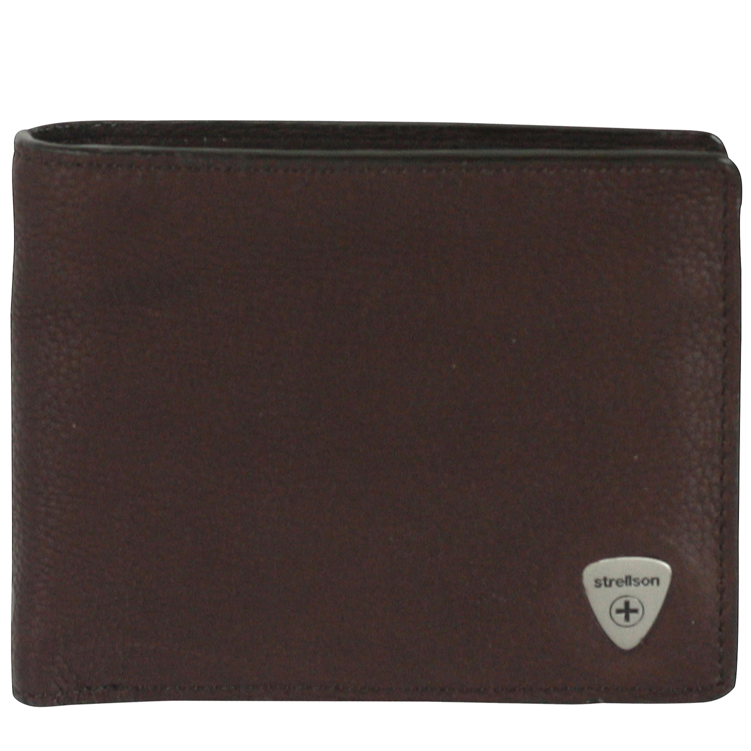 STRELLSON 'Harrison' Geldbörse Leder 12,5 cm