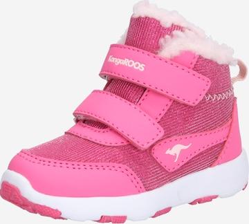 KangaROOS Winterschuh 'Snowdrifter' in Pink