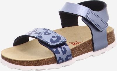 SUPERFIT Sandale in blau, Produktansicht