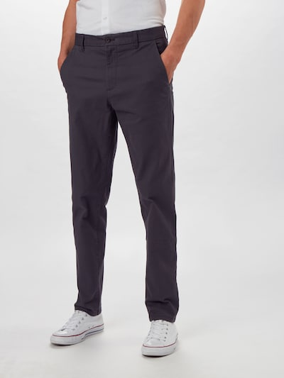 BURTON MENSWEAR LONDON Chinohose in schwarz, Modelansicht