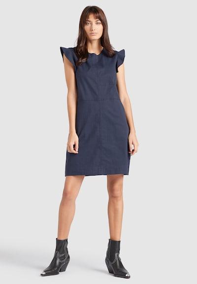 khujo Kleid ' CHARNA ' in blau, Modelansicht