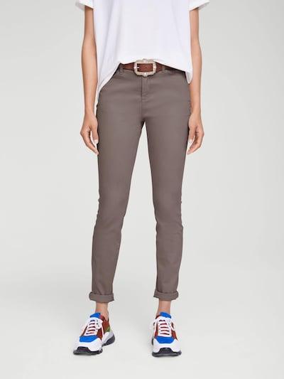 Pantaloni 'Amirela mit Push-up-Effekt' heine di colore talpa, Visualizzazione modelli