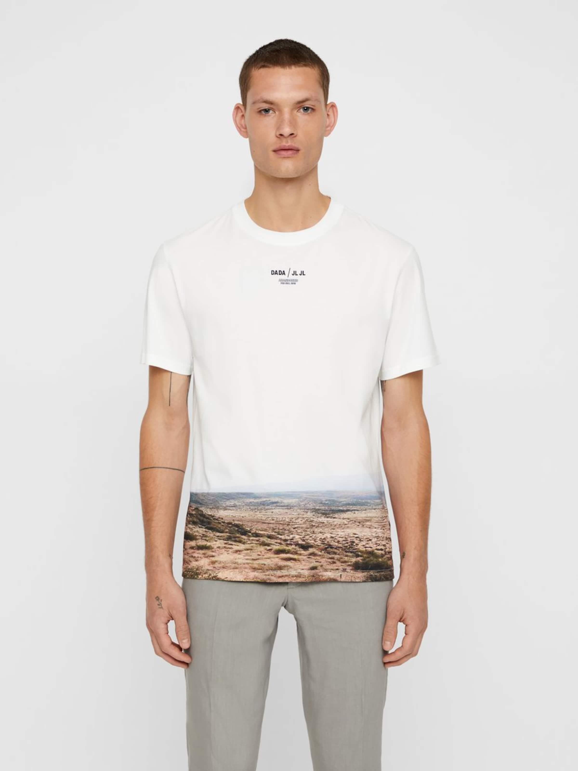 lindeberg 'jordan Cotton' shirt J T In Distinct Weiß trCdxQsh