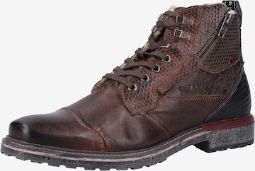bugatti Lace-up boots in Brown