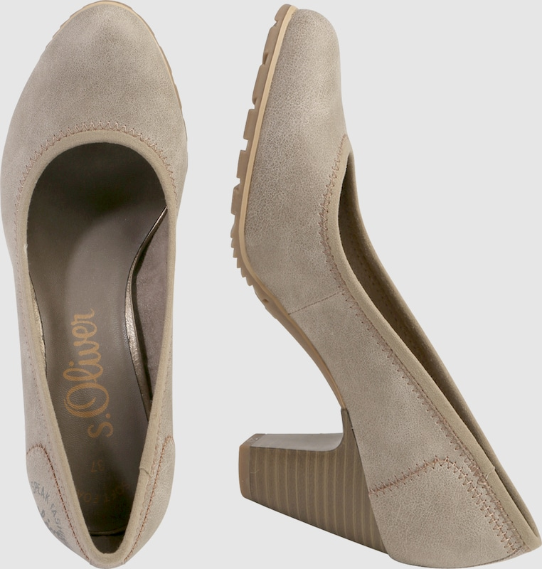 S.oliver Red Label Pumps With Stitchings