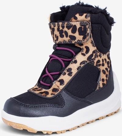 WODEN Snowboots ' Malik Midcut Boot Kids ' in braun / schwarz, Produktansicht