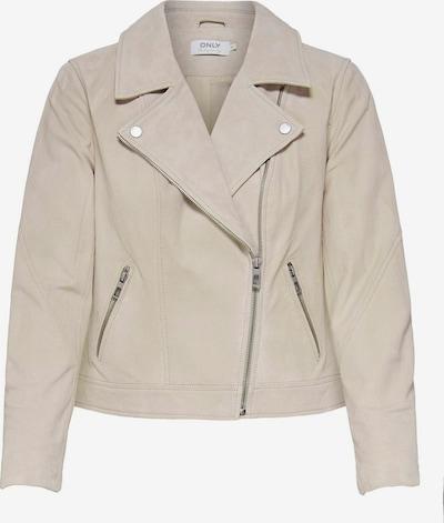 ONLY Lederjacke in beige, Produktansicht