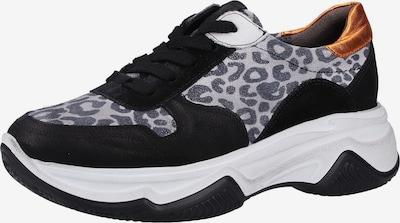 Paul Green Sneaker in grau / anthrazit / schwarz, Produktansicht